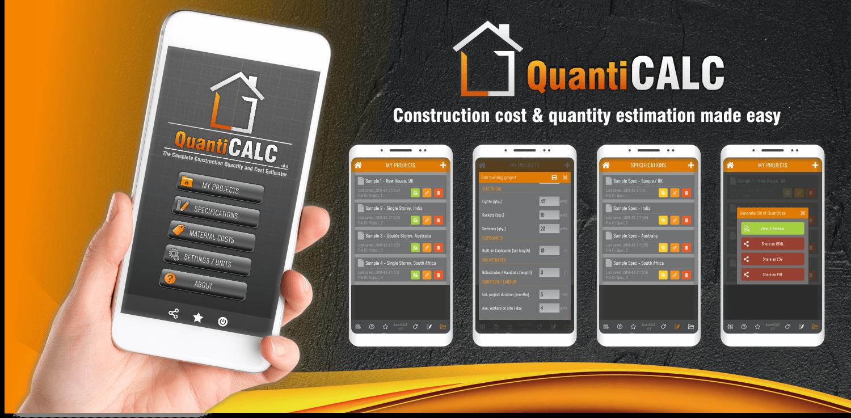 QuantiCALC – Building cost estimator
